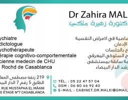 Dr Zahira Malki